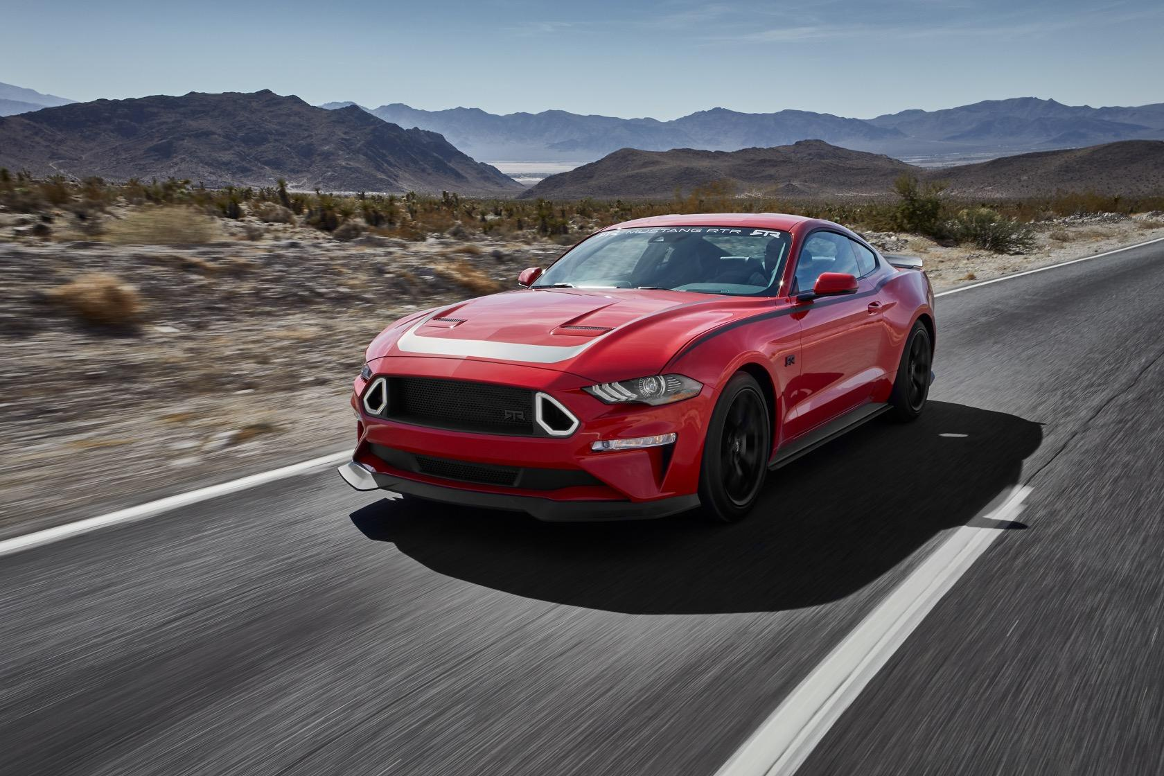 The 2019 ford series 1 mustang rtr packs drift worthy design