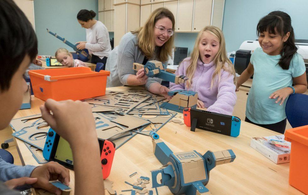 Nintendo Labo flexes its education muscle