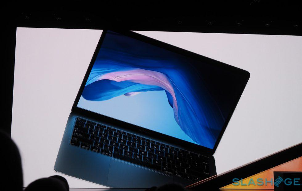 MacBook Air 2018 detailed with Retina display and Touch ID