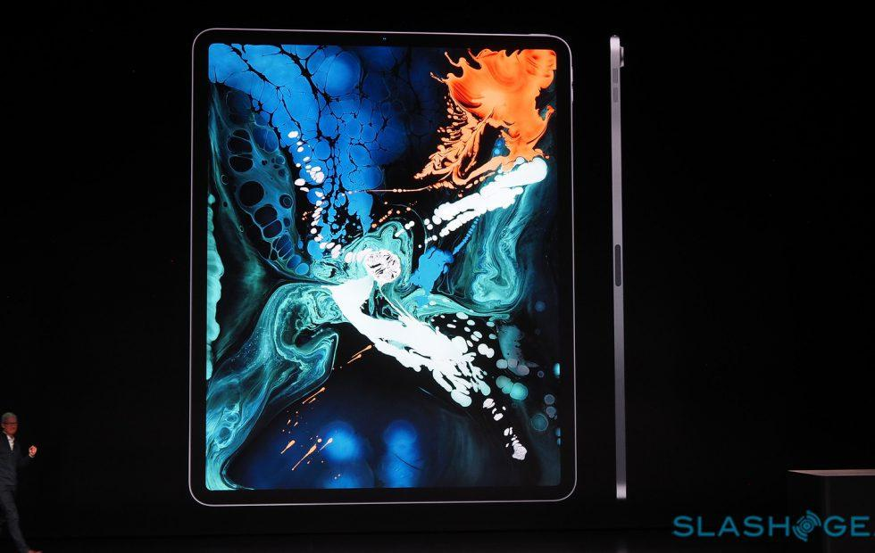New iPad Pro 2018 official with USB-C, Face ID, flat sides