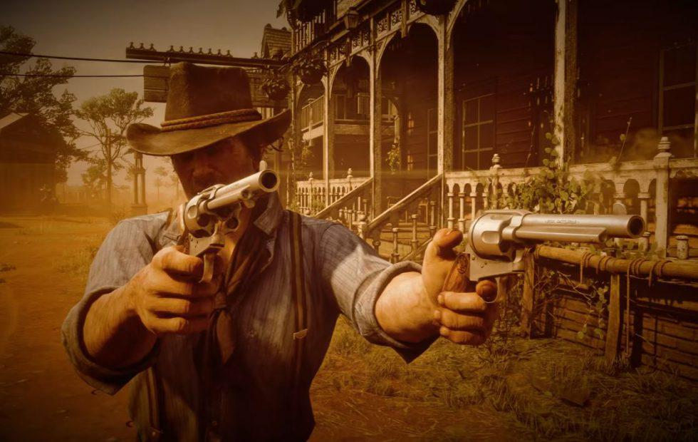 Red Dead Redemption 2 gameplay video shows off Dead Eye system, FPS mode