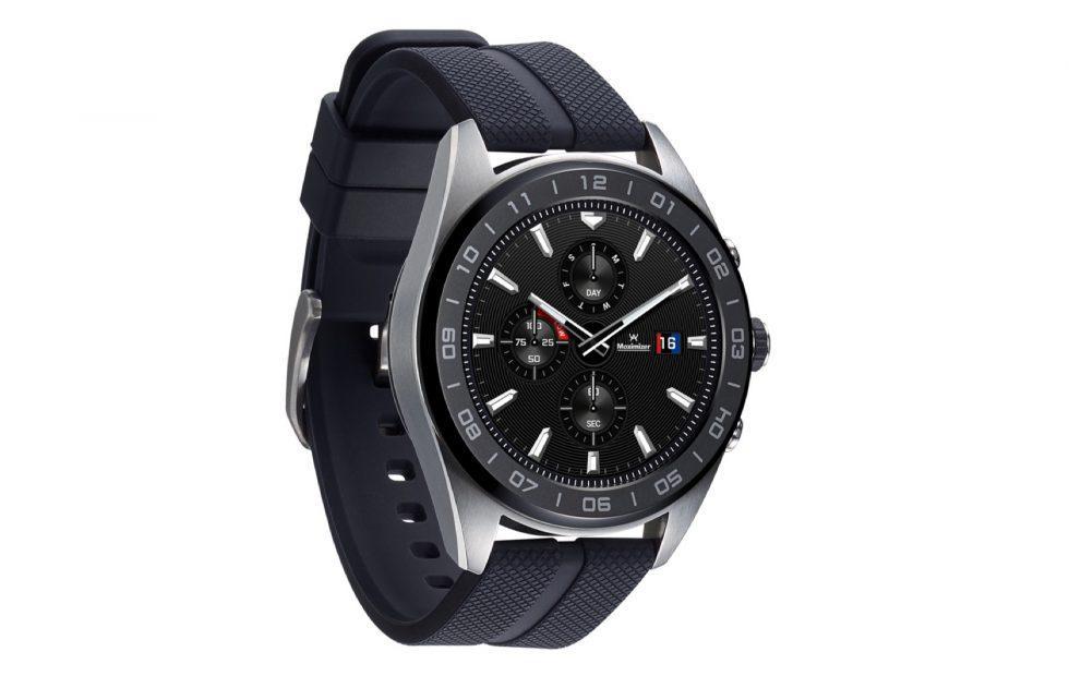 LG Watch W7 pokes mechanical hands through a Wear OS touchscreen