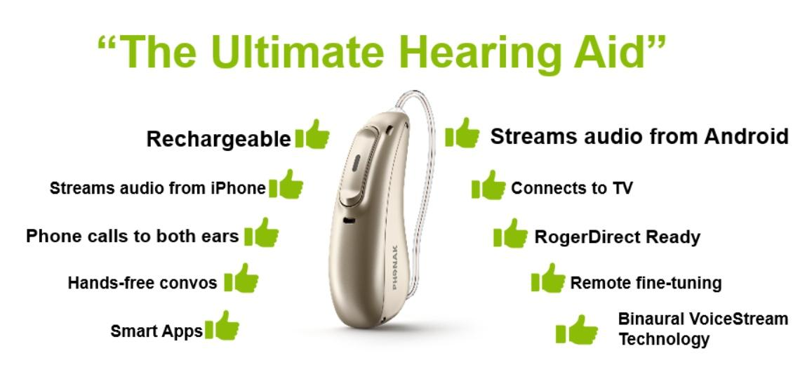 Phonak Audéo Marvel hearing aid: binaural audio for Android