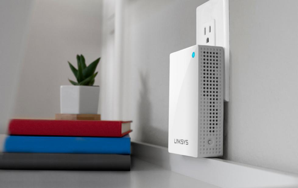 Linksys Velop Plug-in plugs into wall sockets to extend your Wi-Fi