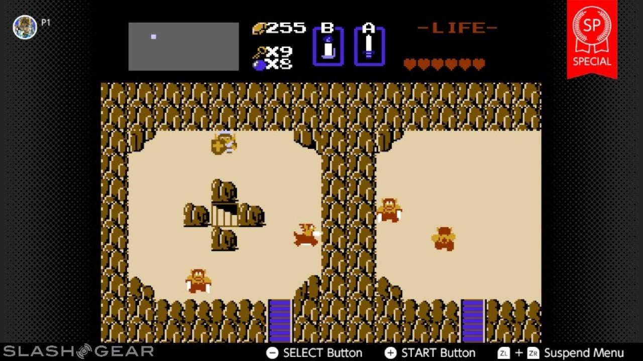 Nintendo Switch Online serves up a new take on NES Zelda - SlashGear