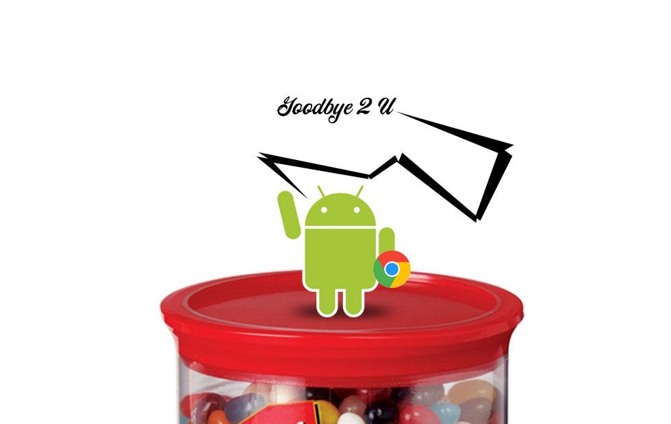 Google just said goodbye to old Jelly Bean Androids