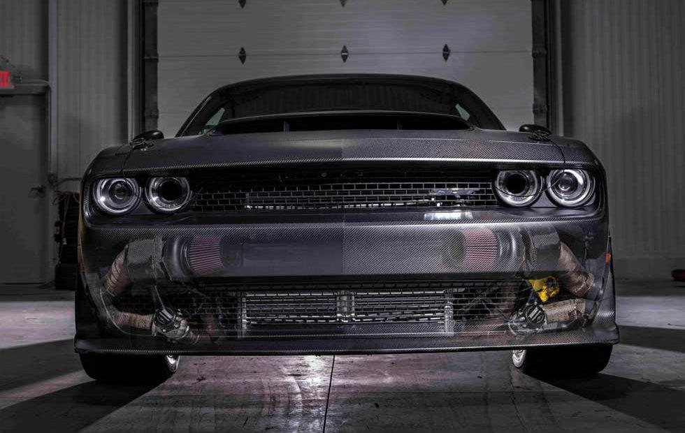 SpeedKore's 1,400hp Dodge Demon rips 8.77 second 1/4-mile run