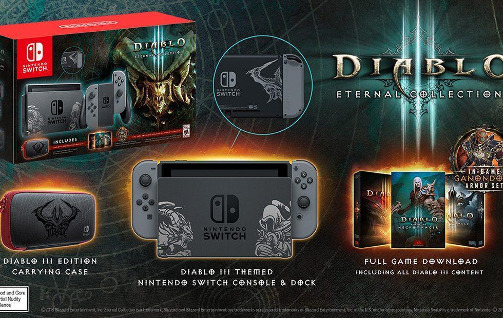 Nintendo Switch Diablo III bundle revealed as GameStop exclusive