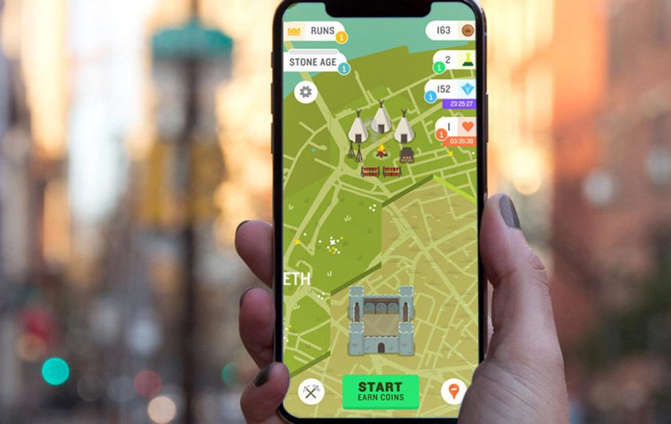 Run an Empire game merges AR and fitness to conquer real land