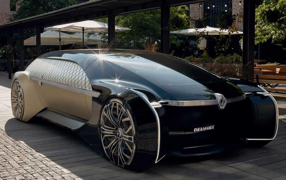 Renault EZ-Ultimo is self-driving luxury with Art Deco excess