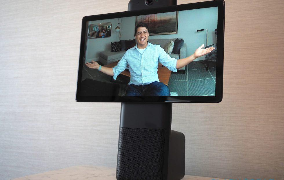 Facebook Portal puts AR Messenger video calls in Alexa smart displays