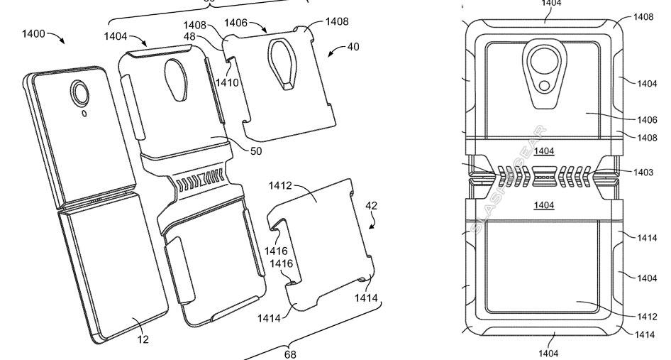 Otter patent reveals Samsung-like foldable phones and tablet