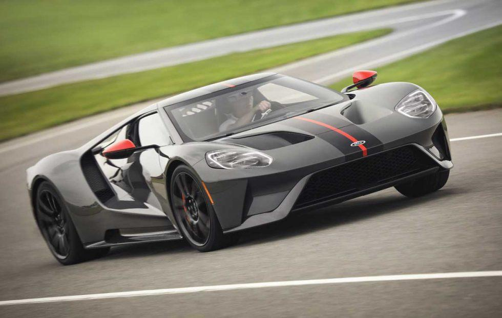Ford GT Carbon Series ditches 40 pounds