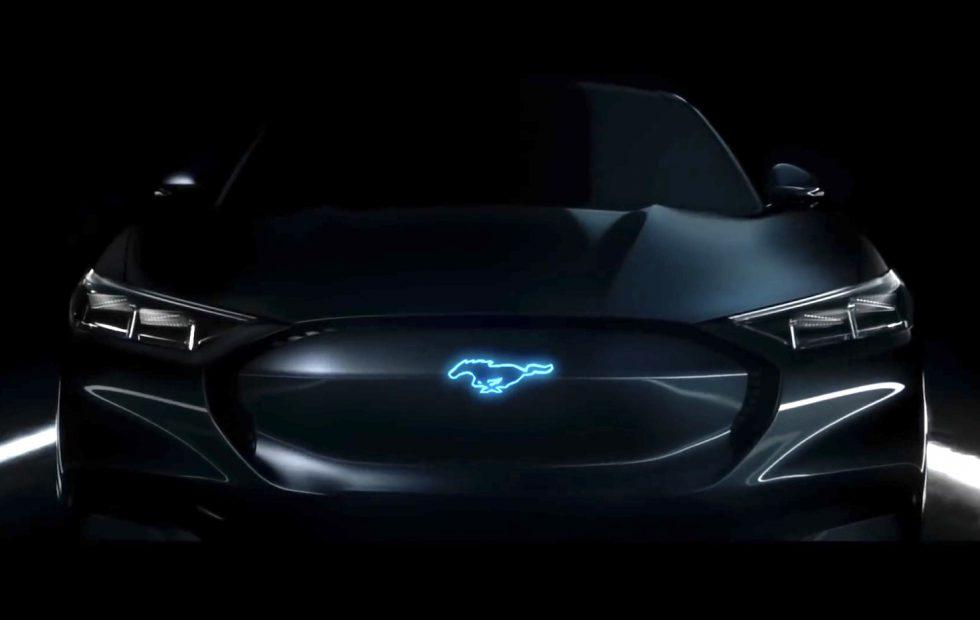 This is the Ford Mustang hybrid