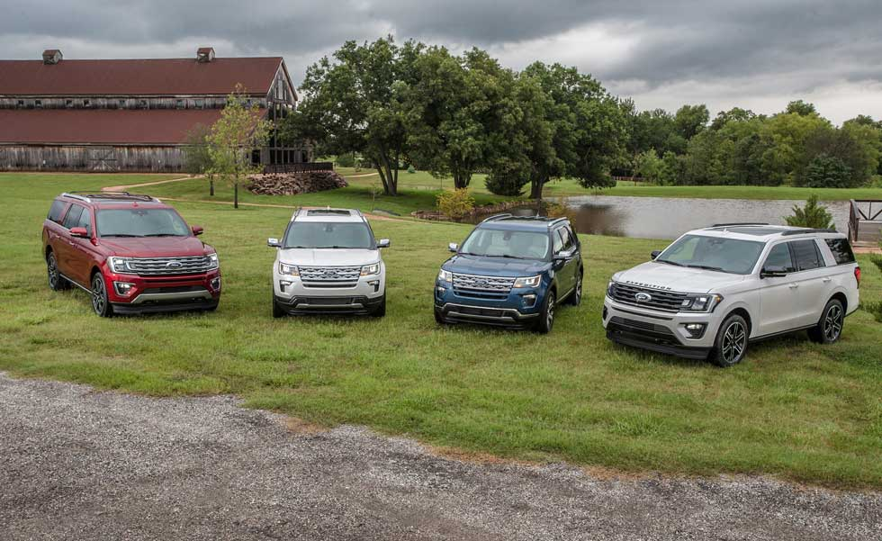 Ford rolls out a quartet of special edition SUVs in Texas