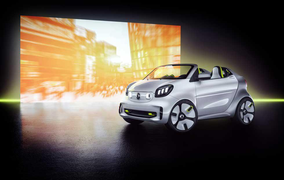 Smart Forease concept is a tiny drop top