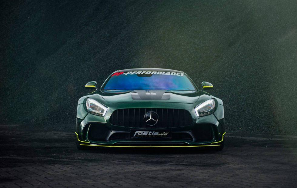 Tuner coaxes 650hp from Mercedes-AMG GT