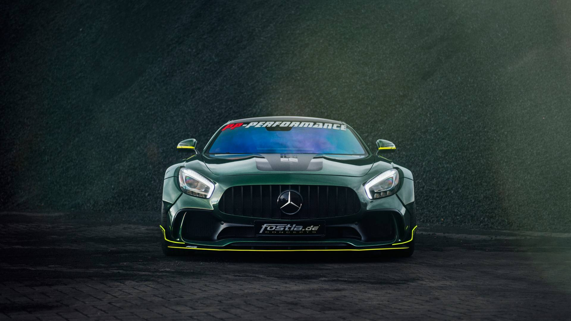 Tuner coaxes 650hp from Mercedes AMG GT