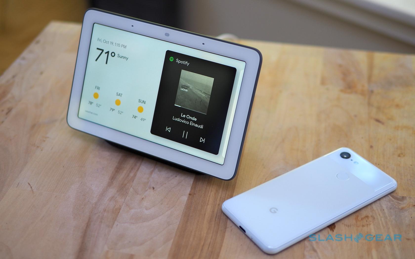 Google Home Hub Review: A friendlier smart display - SlashGear