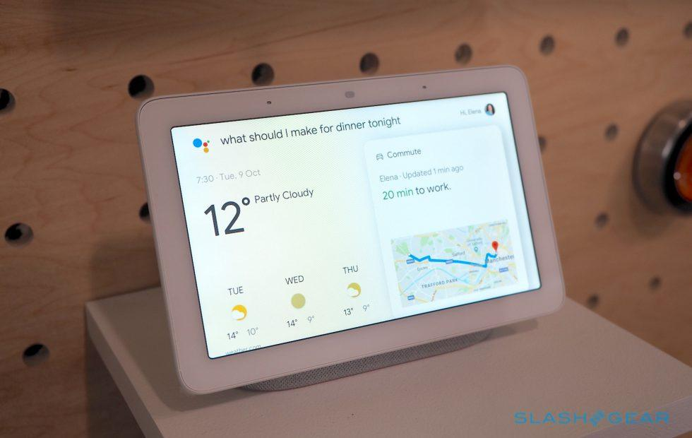 Google Home Hub hands-on: Big AI in a small smart display