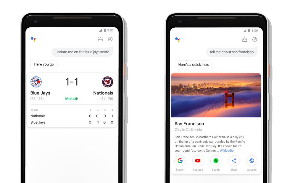 Google Assistant redesign adds bigger visuals, simple smart home control