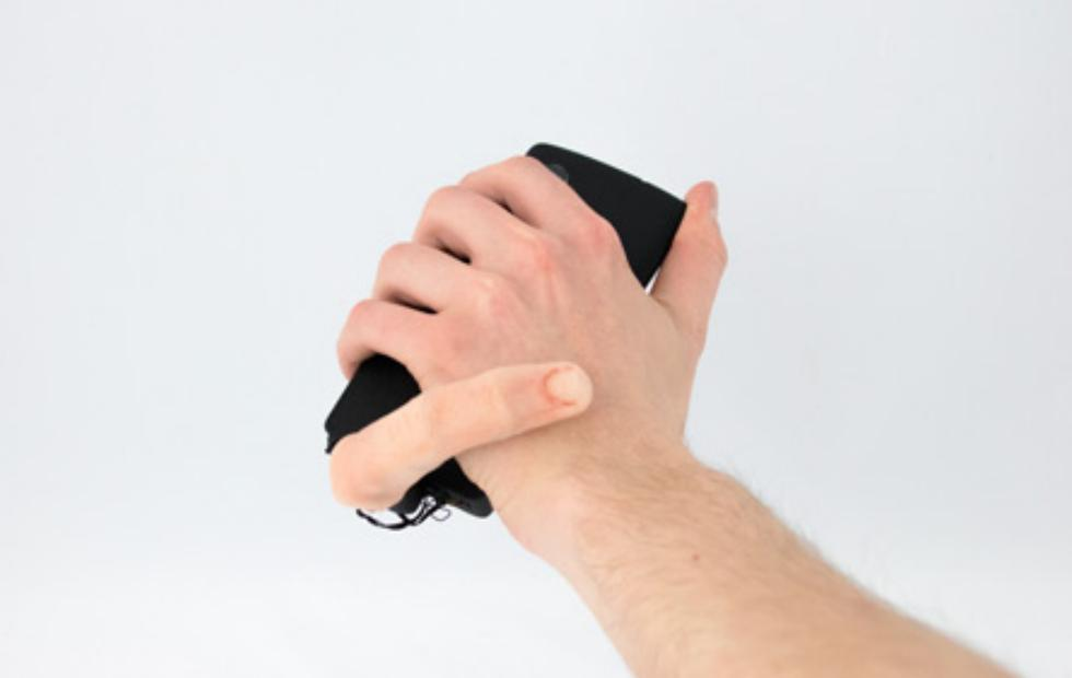 MobiLimb gives your phone a finger to stroke your wrist with