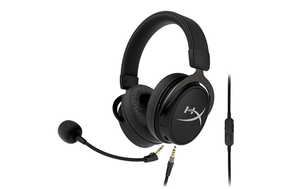 HyperX Cloud Mix Bluetooth gaming headset supports hi-res audio