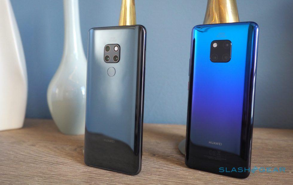 Huawei Mate 20 Pro and Mate 20 Gallery