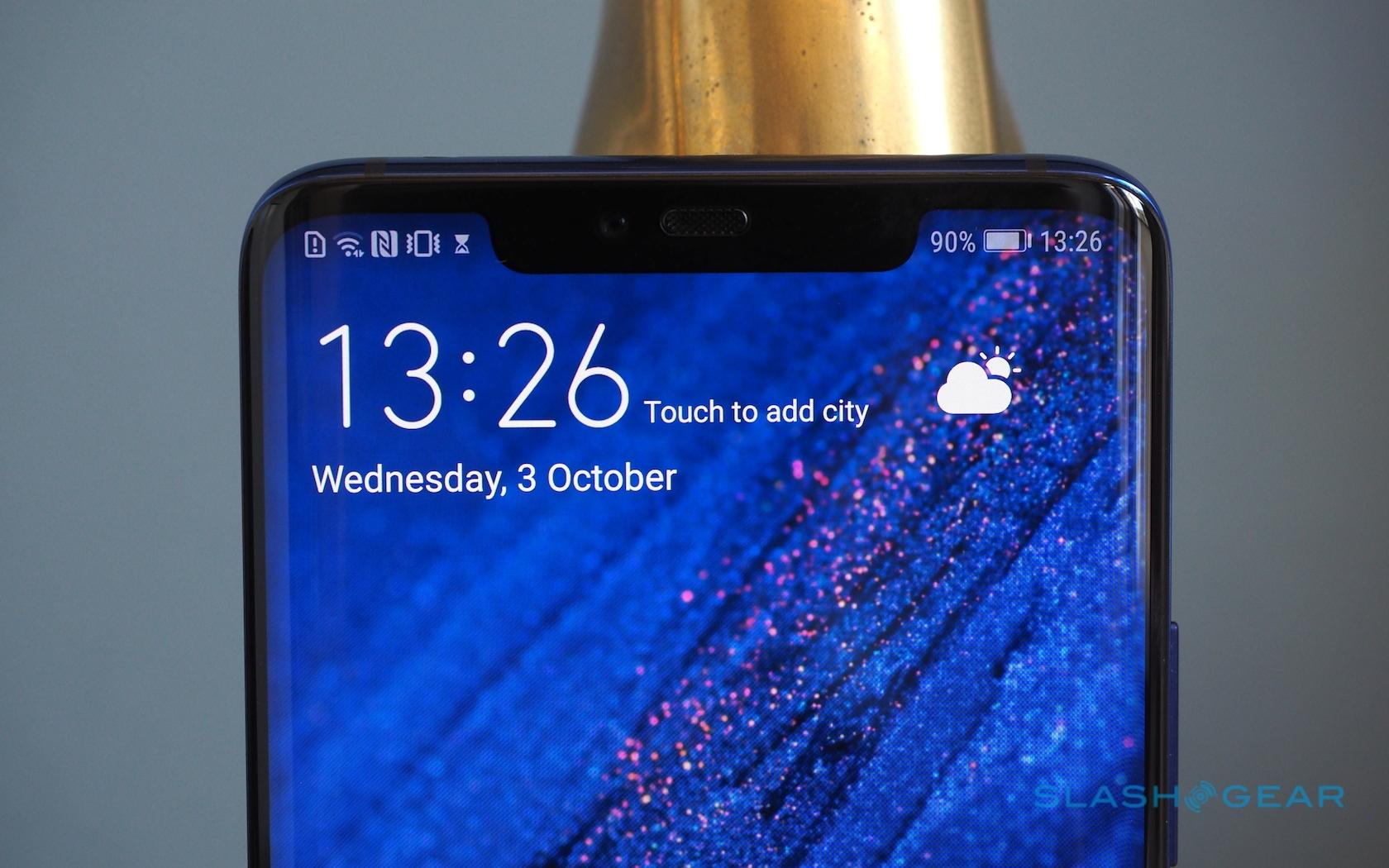 Huawei Mate 20 Pro hands-on: Gunning for iPhone XS - SlashGear