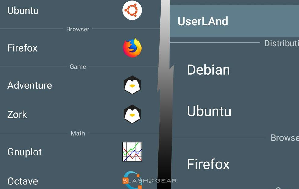 Suddenly Linux runs in Android - SlashGear