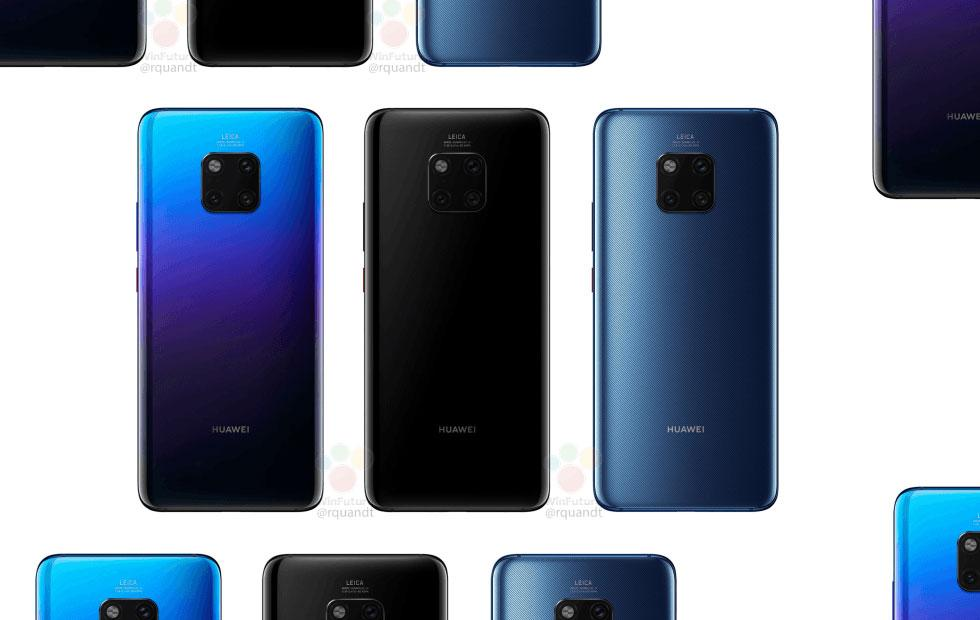Huawei Mate 20 Pro leaked in full (save that battery)