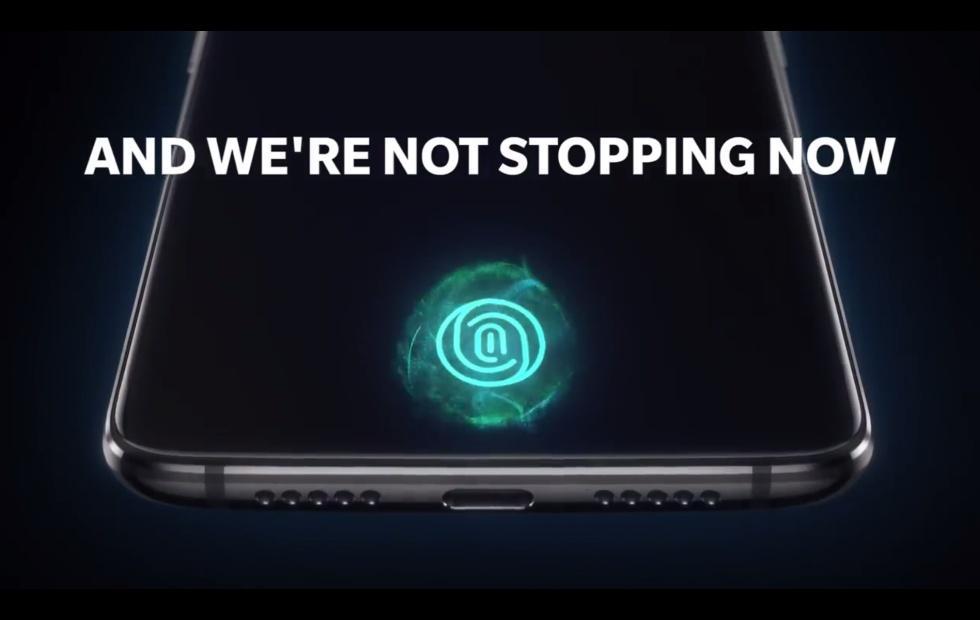OnePlus 6T official teaser highlights fingerprint on display
