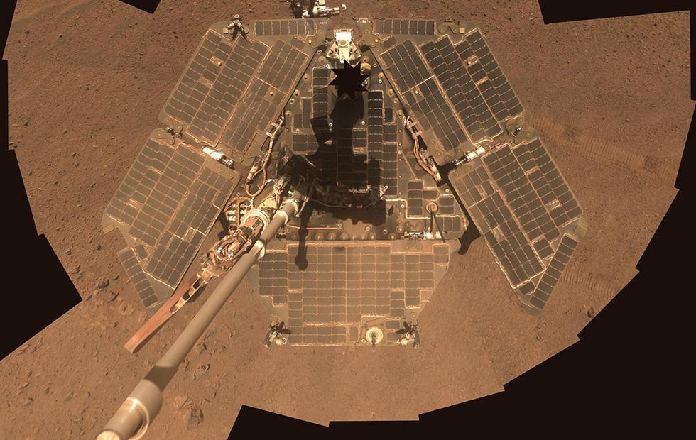 NASA to reassess Mars Opportunity rover's situation in January 2019