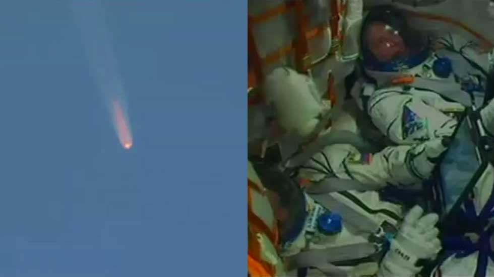 "Soyuz booster failure forces ""ballistic re-entry"" for crew module"