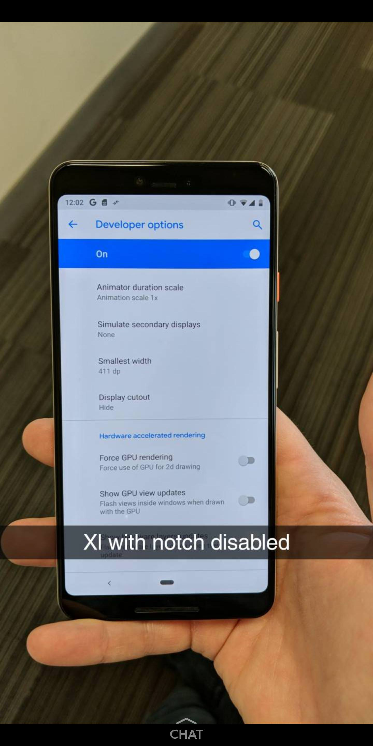Pixel 3 XL lets you hide the notch or add a second one