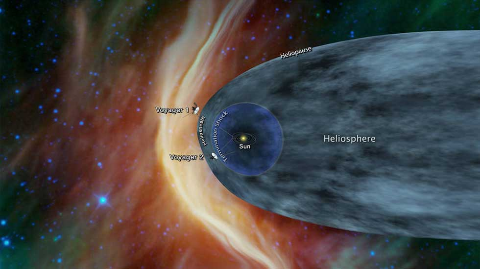 Voyager 2 could be nearing interstellar space