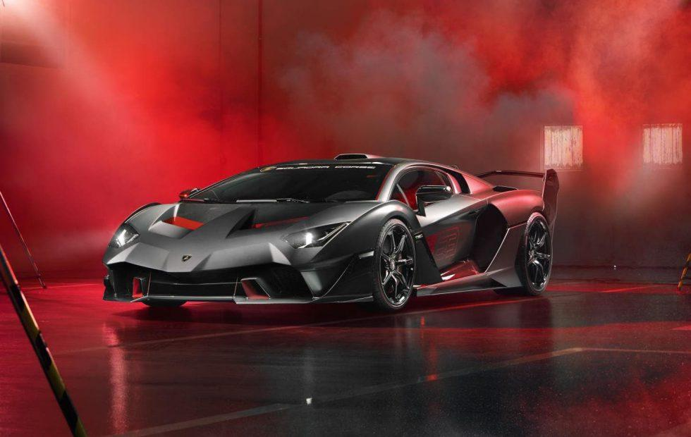 Lamborghini SC18: a 770hp Aventador one-off for the track