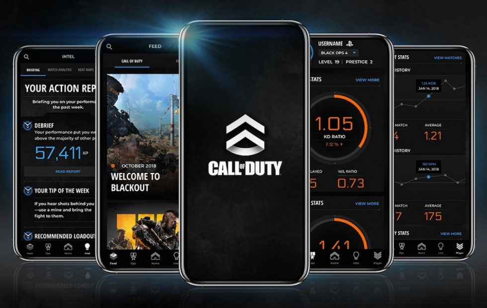 Call of Duty companion app launches with stat tracking for Black Ops 4, WWII