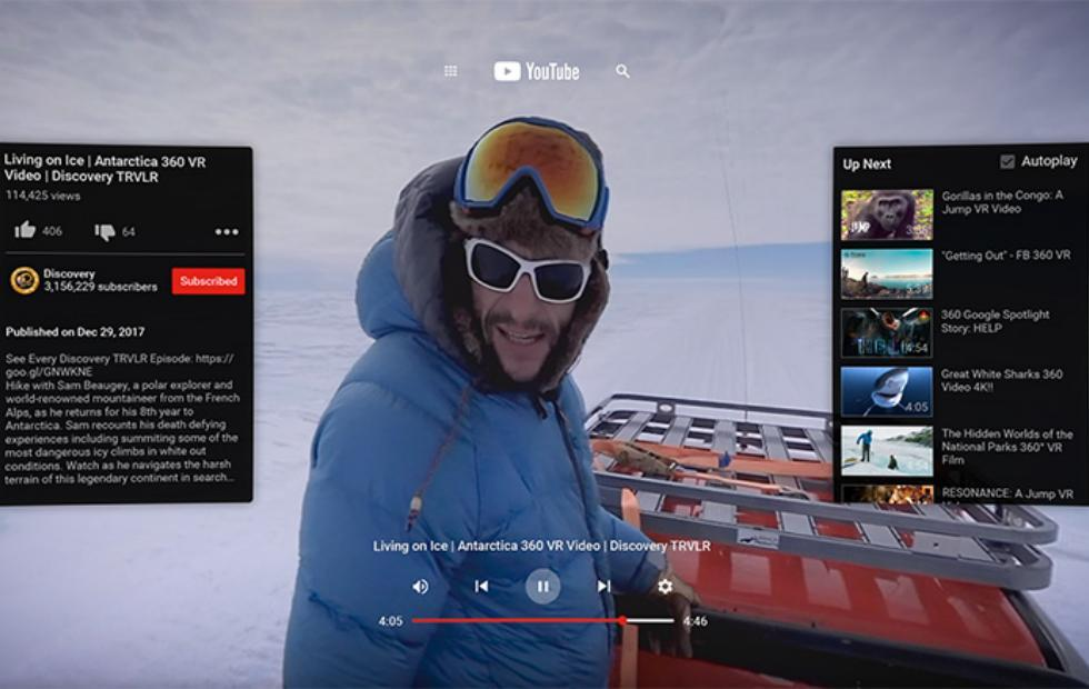 YouTube VR for Oculus Go is finally here