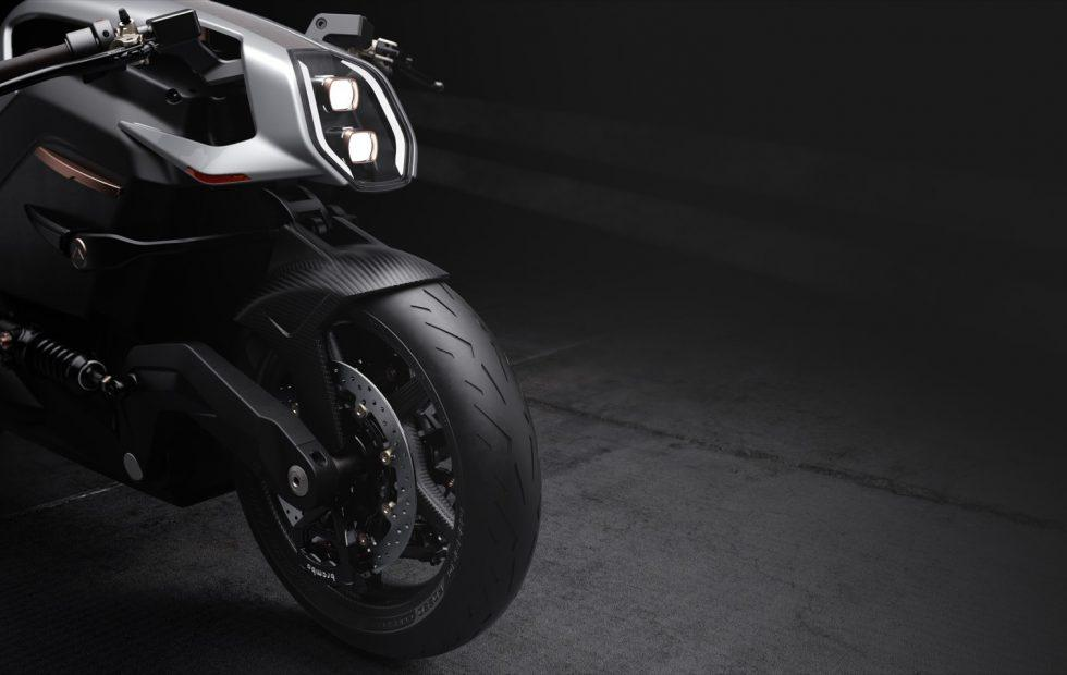 Arc Vector EV motorcycle wants to be the Tesla of two wheels