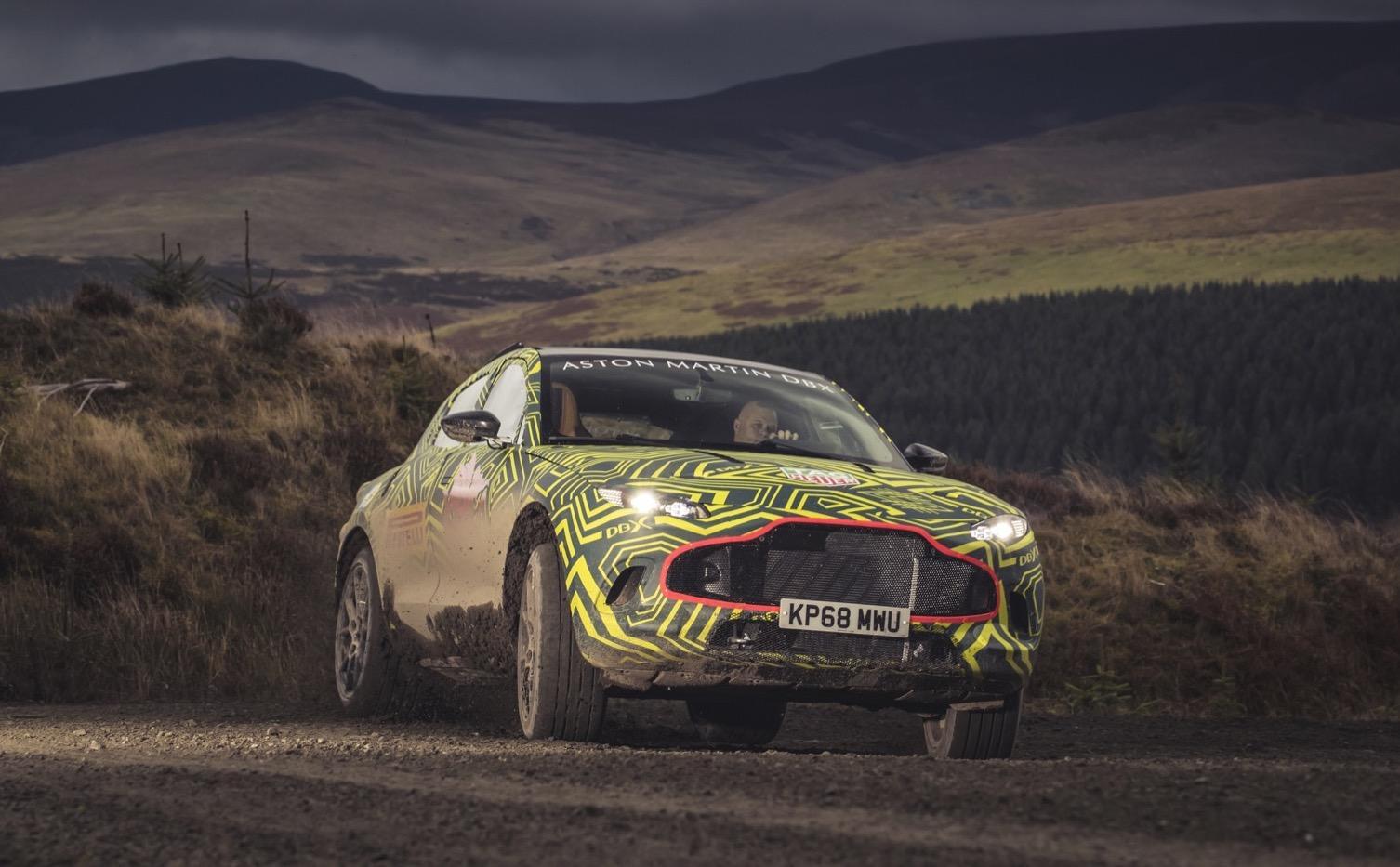 Aston Martin Dbx Suv Revealed As Latest Luxe Truck Slashgear