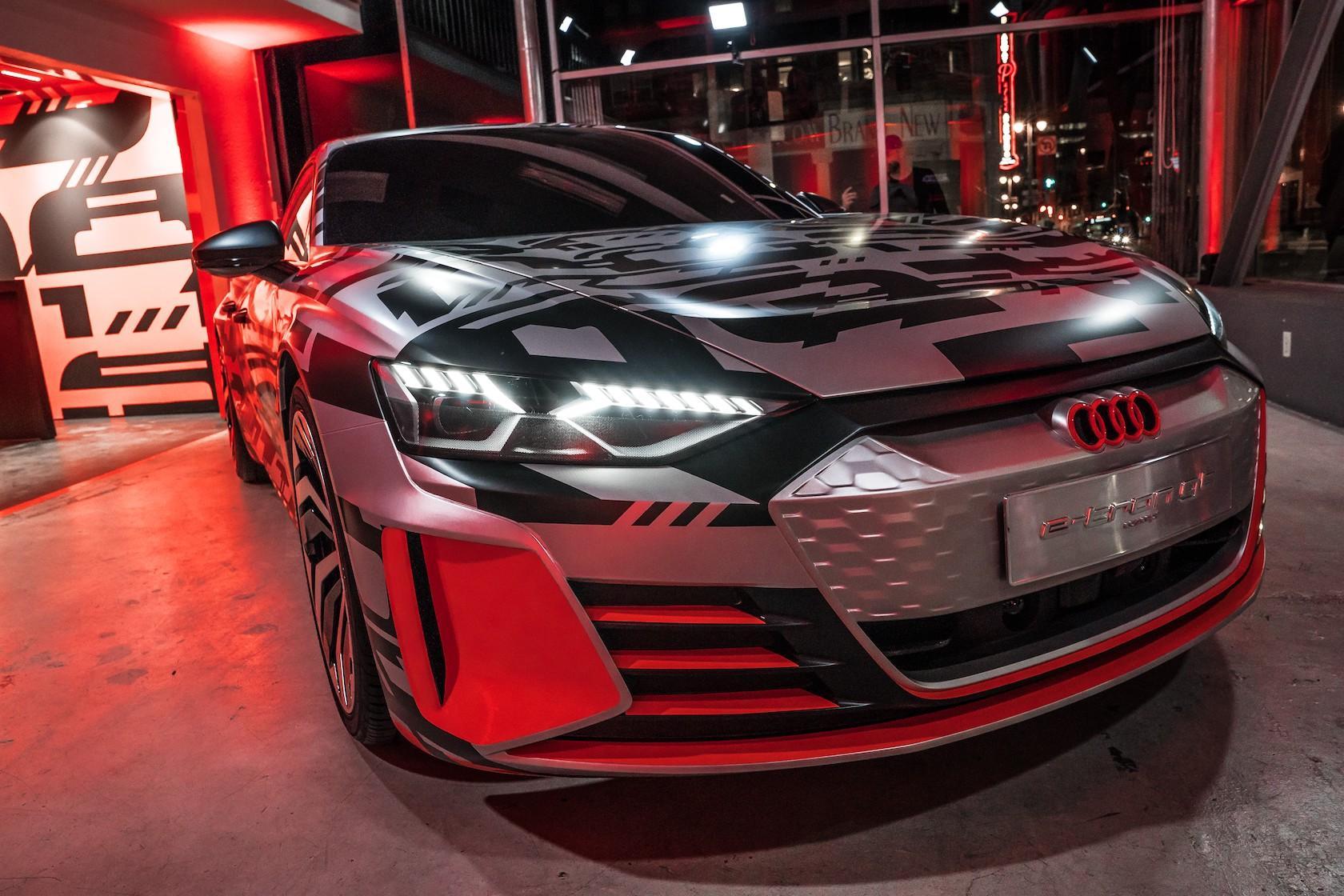 Audi e-tron GT Concept Gallery - SlashGear
