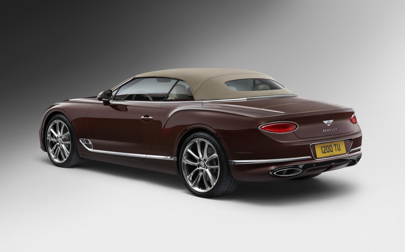 Bentley Continental Gt Convertible Gallery Slashgear