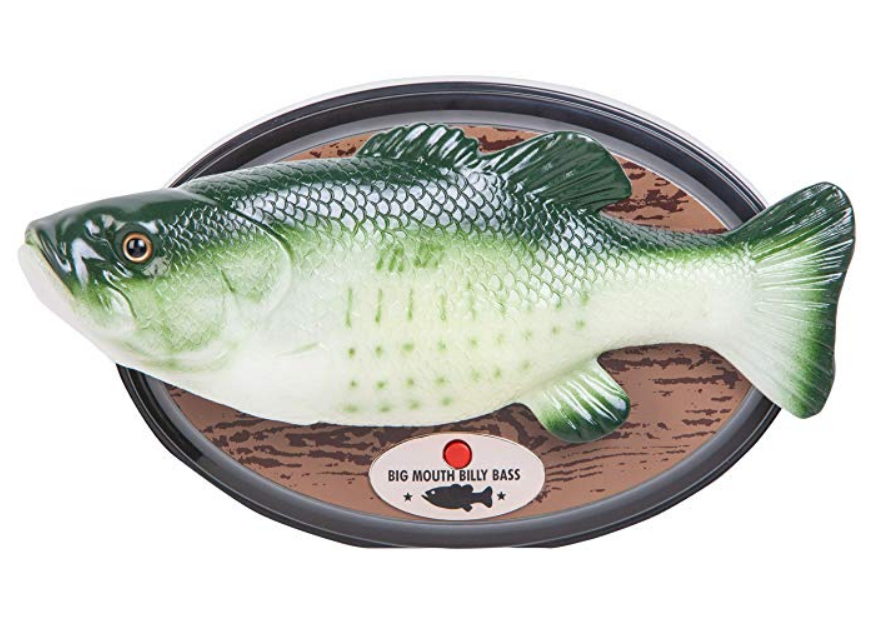 Alexa-enabled Big Mouth Billy Bass is up for pre-order