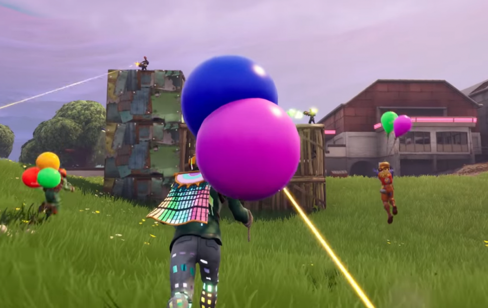 Fortnite patch notes detail new Balloons item
