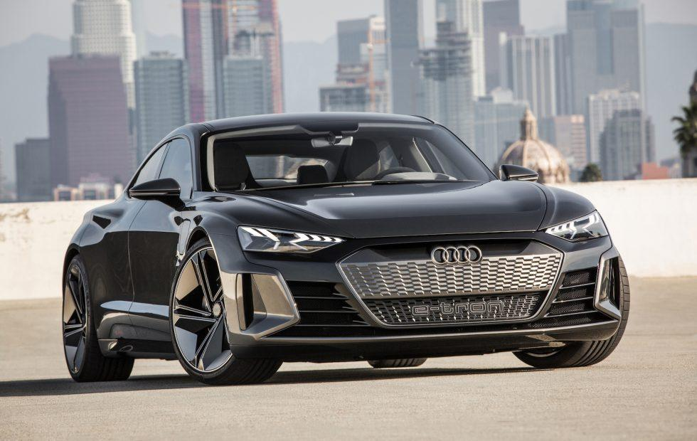 Audi E Tron Gt Concept Is A Drop Dead Gorgeous 4 Door Ev