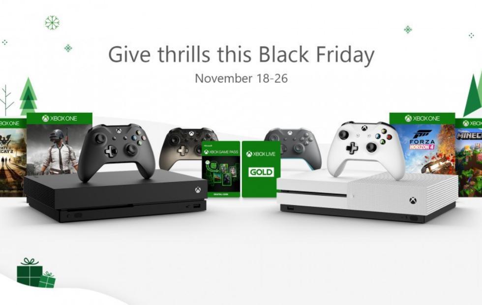 Xbox Black Friday deals have already begun