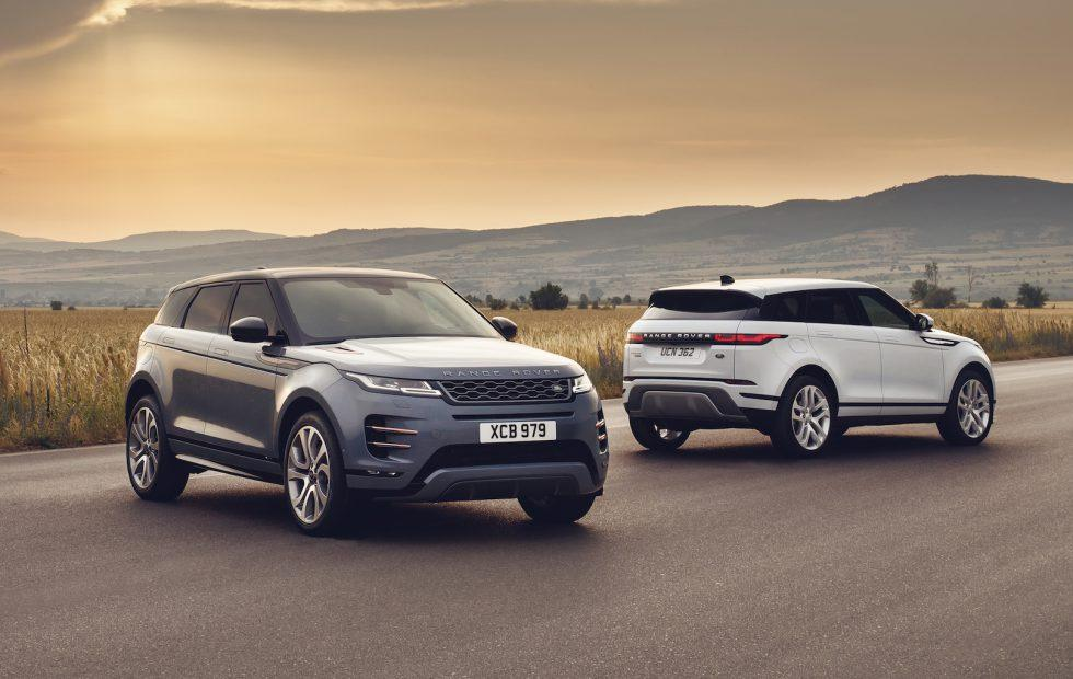 2020 Range Rover Evoque gets style, tech, and hybrid upgrade