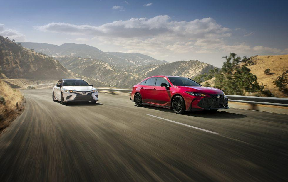 2020 Toyota Camry TRD and Avalon TRD Gallery