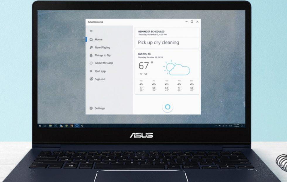 Alexa for PC brings Amazon AI to Windows 10